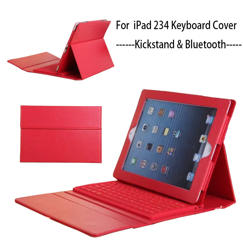 Solid Stand for iPad 2 iPad 3 iPad 4 Case Keyboard Silicon Protective Cover for iPad 2 3 4 Case With keyboard Bluetooth Soft for ipad air 1 case with keyboard wireless bluetooth keyboard abs plastic stand protective bluetooth keyboard for ipad 5