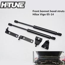 H-TUNE 4×4 Accessories Front Hood Gas Shock Strut Damper for Hilux Vigo Pickup SR5 05-14