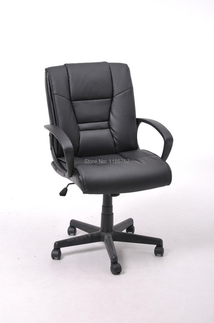 high lift chair for dolls brand new quality black pu leather metal office computer with arms