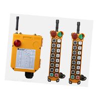 F24 14S for hoist crane 2 transmitter and 1 receiver industrial wireless redio remote control switch switches