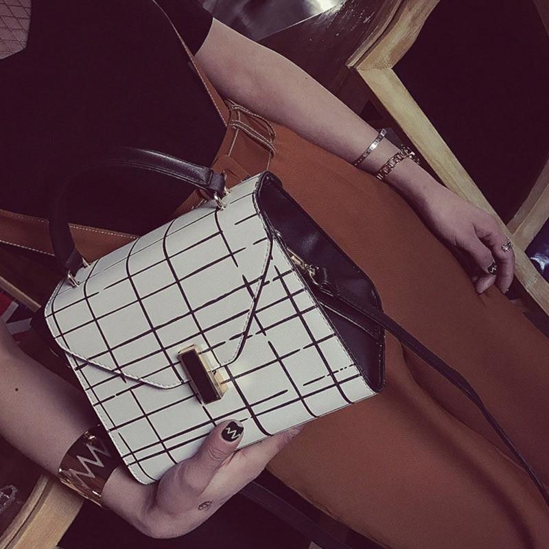 2017 Fashion Women Handbag Office Ladies Totes Shoulder Bag High Quality PU Leather Female Crossbody Bags Women Casual Totes