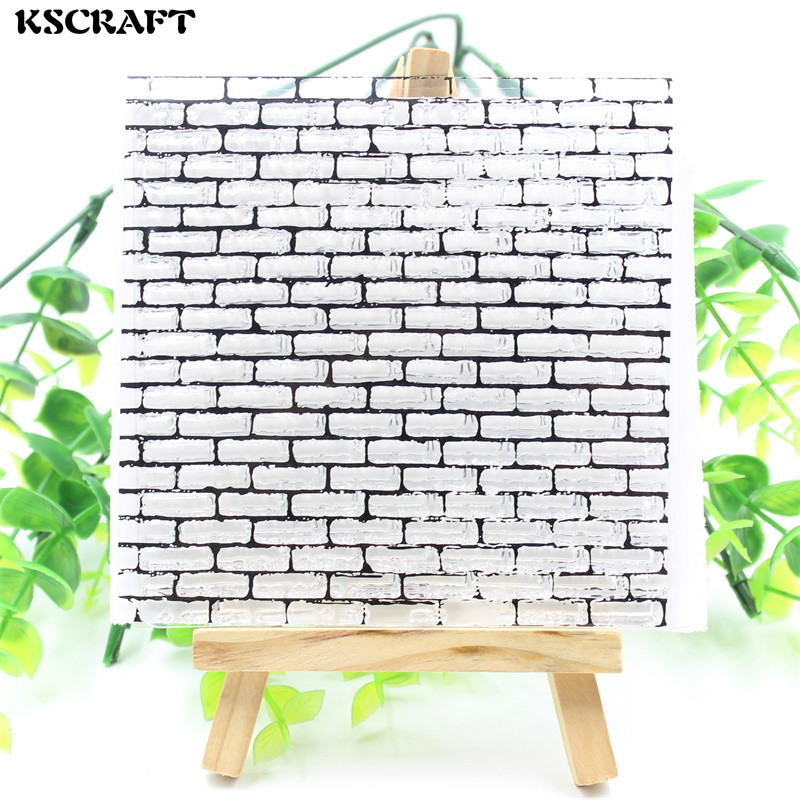 KSCRAFT Wall Transparent Clear Silicone Stamps for DIY Scrapbooking/Card Making/Kids Crafts Fun Decoration Supplies