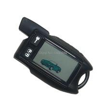 TW 9.5 LCD Afstandsbediening Sleutelhanger voor Russische Tomahawk 9.5 twee weg auto alarm systeem Tomahawk 9.9 Fob Sleutelhanger