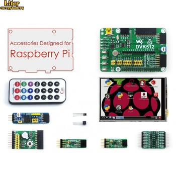 Raspberry Pi Accessories 3.5'' Raspberry-pi LCD Screen + Raspberry-pi Expansion Board + Modules Development Kit for All pis