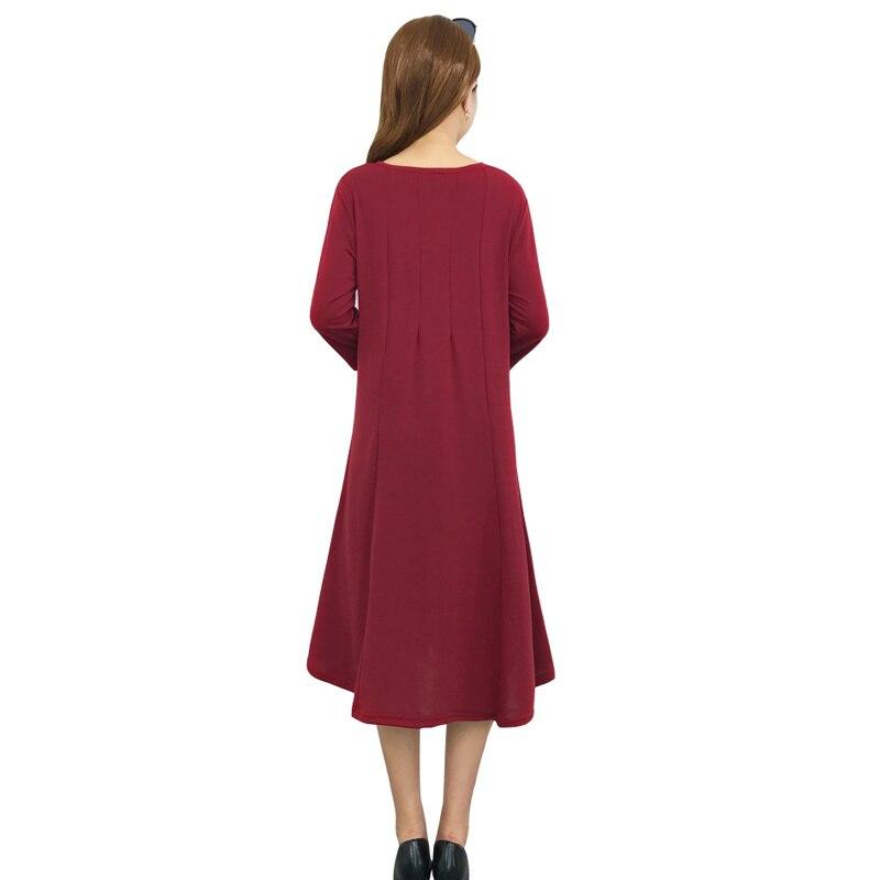 3281be76f ENXI de maternidad vestidos Plus tamaño vestido embarazada primavera  embarazo medio vestido auctor ID ropa para mujeres embarazadas - a.jonzee.me