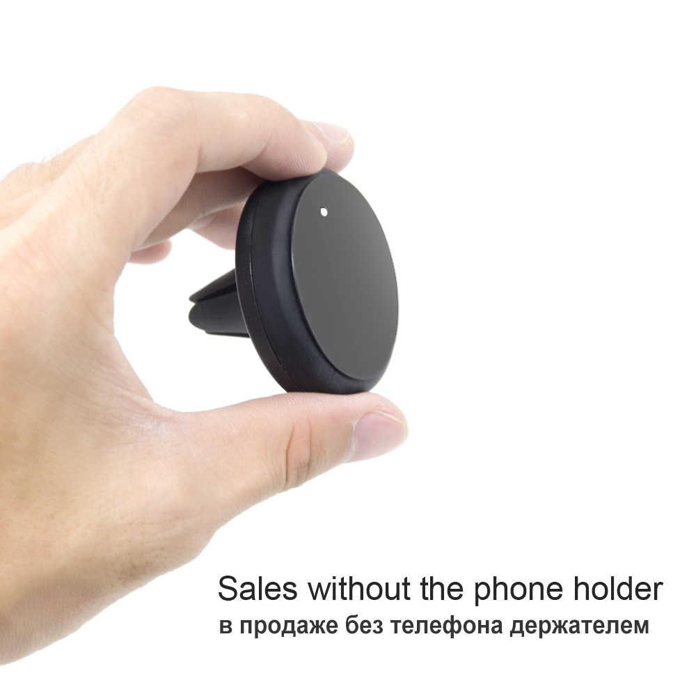 2018 Pelat Logam Melingkar Persegi Plat Besi dengan 3M Perekat Khusus Digunakan untuk Magnetik Mobil Ponsel Pemegang Aksesori Ponsel P