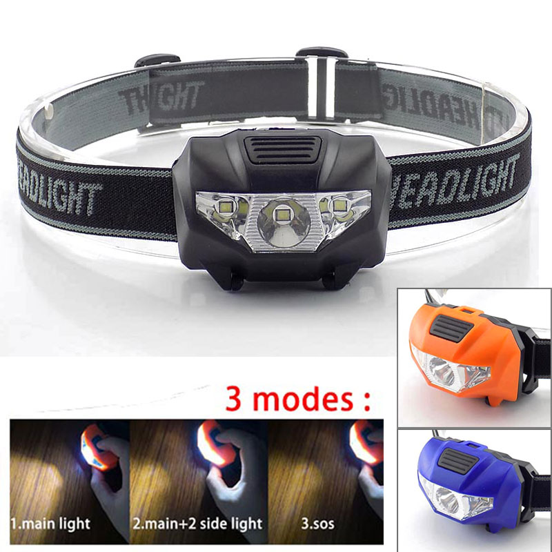 High Power Mini Headlamp LED AAA Head Light Torch Lamp Bright Flashlight Fishing Hoofdlamp Headlight Lampe Torches For Camping