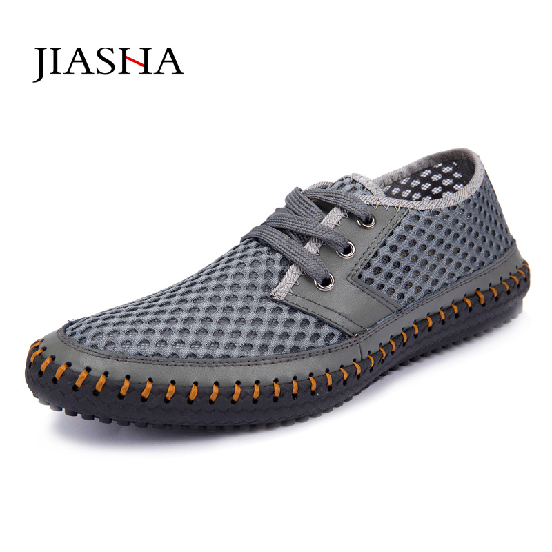 Shoes men 2018 fashion breathable mens shoes casual shoes summer mesh shoes