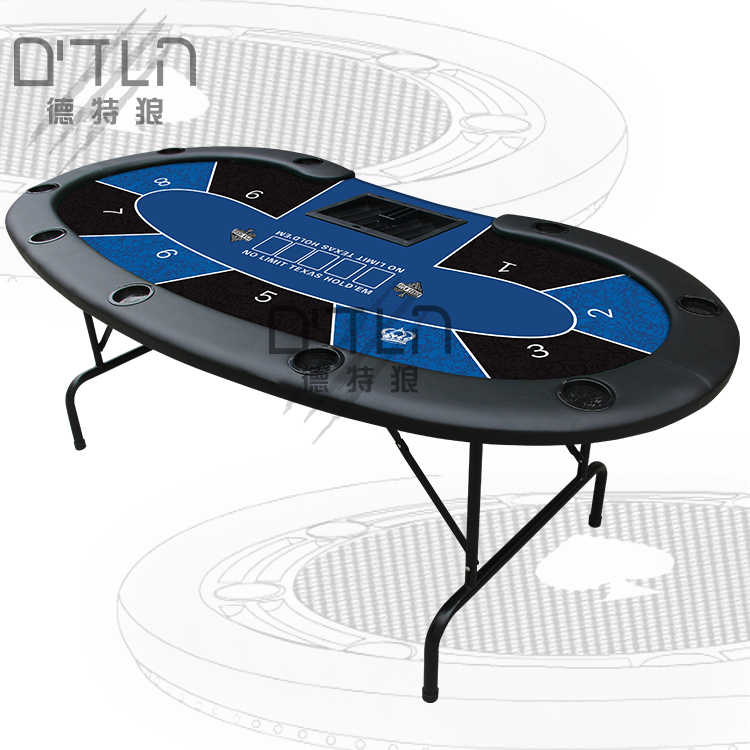 Dtln 218 106 78 Poker Table Top Foldable Metal Stands Tabletop Casino Poker Table With 10 Players Gambling Tables Aliexpress