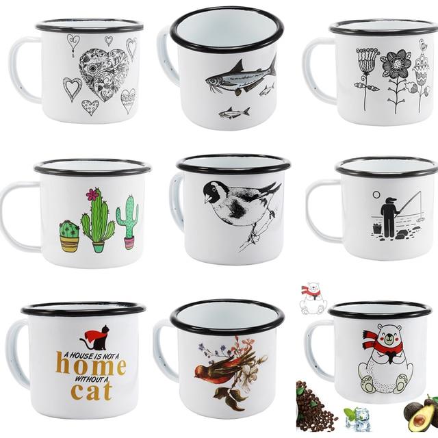 350 ML Enamel Coffee Mug