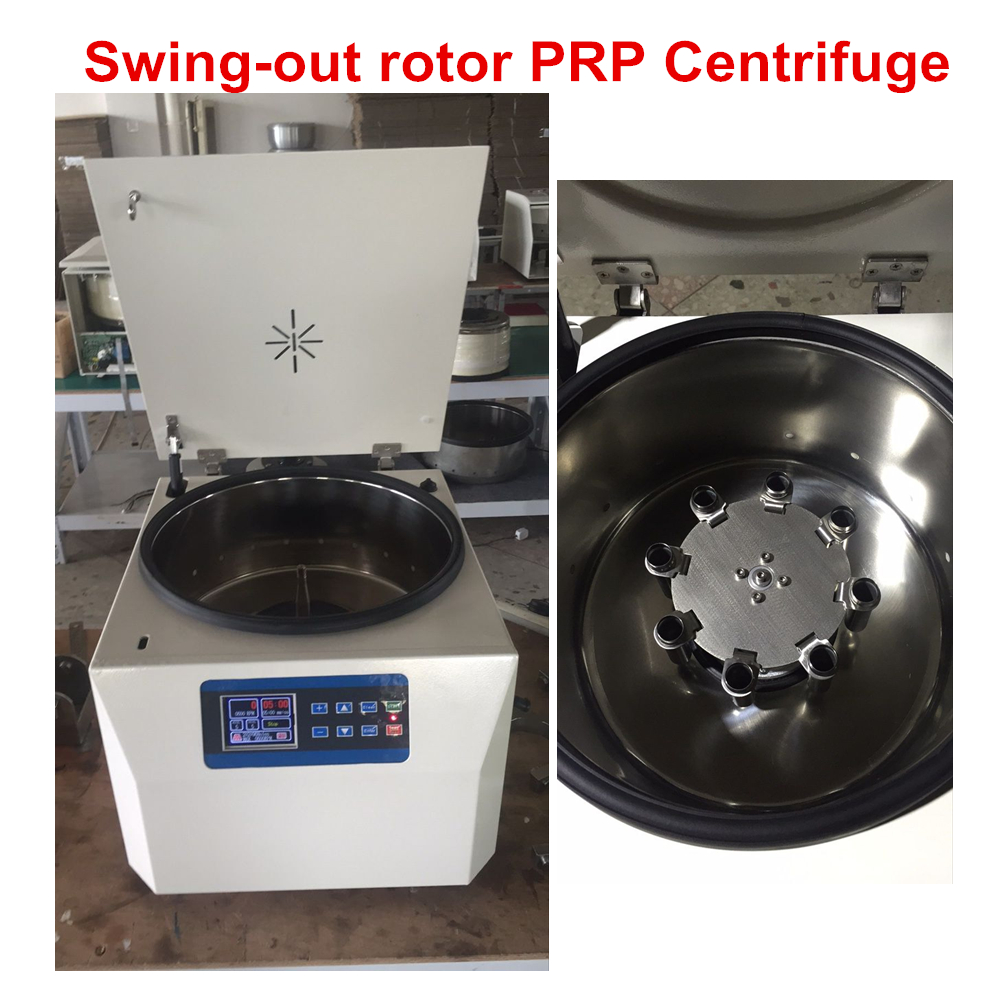2018 PRP Centrifuges with swing out rotor 8 tubes fit for 10ml 15ml prp tube for Hair, facial, skin care, and dental use2018 PRP Centrifuges with swing out rotor 8 tubes fit for 10ml 15ml prp tube for Hair, facial, skin care, and dental use