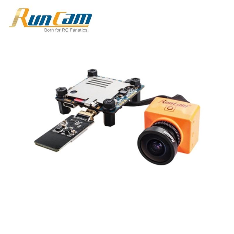RunCam сплит 2 Угол обзора 130 градусов 1080p / 60 кадров в секунду запись HD плюс ДМР с fpv камера NTSC или PAL Переключаемый против 3 Орел 2