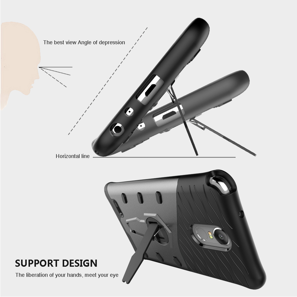 US $4 99 |For LG STYLO 3 Case, LONTECT Hybrid Dual Layer Shock Absorbing  Protective Case Cover with 360 Rotating Kickstand for LG STYLO 3-in Phone