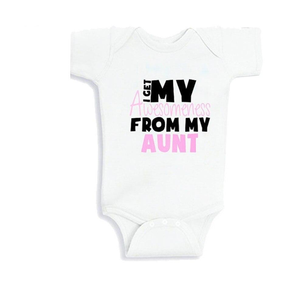 Culbutomind Summer Newborn Infant Baby Boy Girl My Aunt