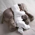 Criativos Brinquedos de Pelúcia Elefante Adulto Do Bebê Conforto Travesseiro Um Compromete-se A Almofada Presente para a Família Animal Brinquedos Infantis