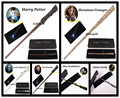 Luminous Harry Potter LED wand Hermione Dumbledor with light Boys& Girls kid's cosplay magic Christmas toys with Gift Box