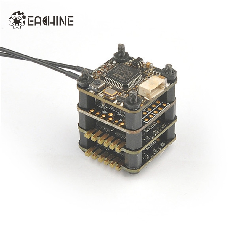 Best Combo 15x15mm Eachine TeenyCube Flytower Frsky XSR-E Receiver & F3 Flight Controller & 6A 2 in 1 ESC RC Drones Quadcopter special edition eachine minicube flytower 20x20mm compatible for frsky for flysky for dsm rx receiver f3 flight controller esc