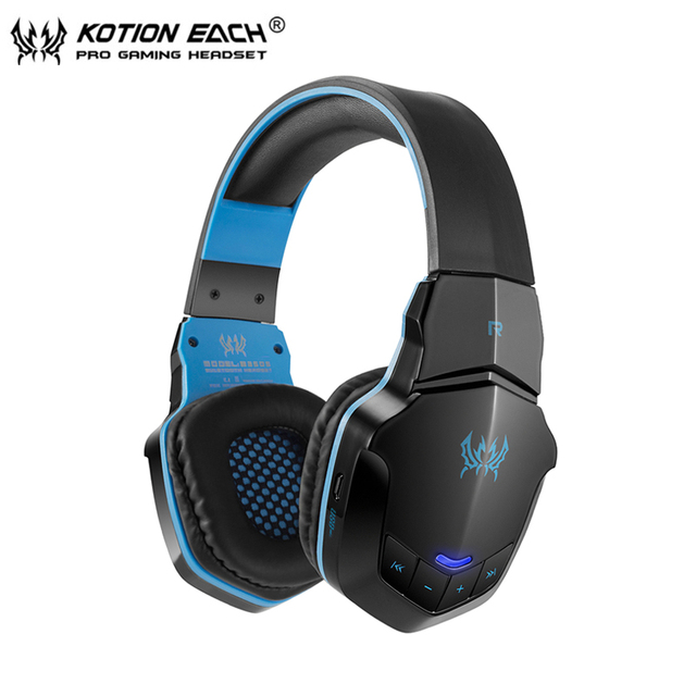Wrieless kotion cada b3505 bluetooth stereo auriculares diadema auricular con micrófono para el iphone 6/iphone6 plus samsung