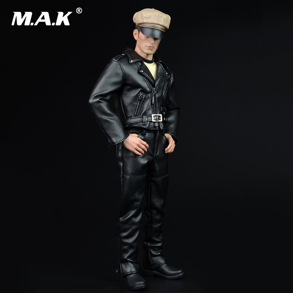 A007A 1/6 Men Hippie Motorcycle Leather Suits & Leather Pants Models For 12'' Figures Male Bodies в магазине духи escada ibiza hippie