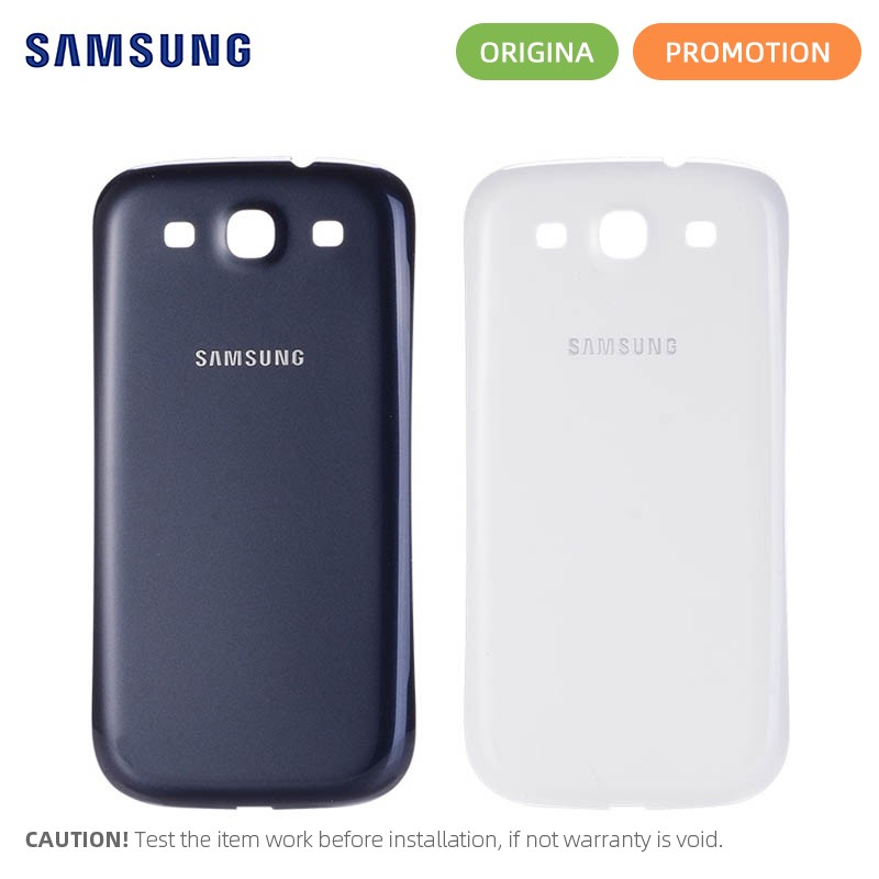 Battery Back Cover For Samsung Galaxy S3 I9300 GT-i9300 Rear Housing Battery Door Case Replacement Parts(China)