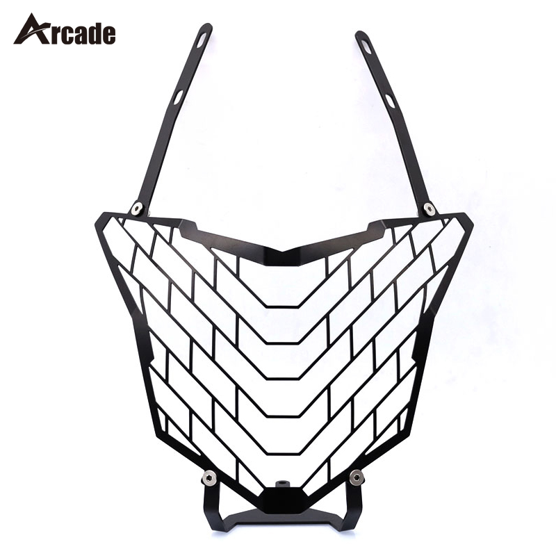 Arcade Motorcycle Headlight Protector For HONDA CB500X CB 500X 2016-2017 Motorcycle Accessories Headlight Grille Guard Cover for honda cb 500f cb 500x cb 650f 2016 2017 2018 motorcycle cnc fuel gas tank cap cover motorbike accessories