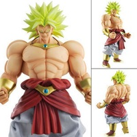 10'' 25cm Japanese Anime Action Figure DBZ Dimension of Dragon Ball Z Broli Figuarts Model PVC Collectible Mascot Broly Toy