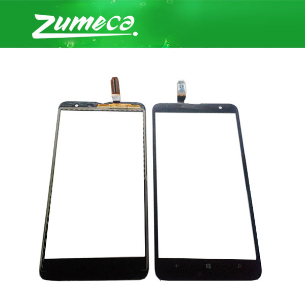 High Quality 6.0 Inch For <font><b>Nokia</b></font> Lumia <font><b>1320</b></font> <font><b>Nokia</b></font> N1320 Touch Screen Digitizer Panel Lens Glass Replacement Part Black Color image