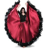 Elbise Açılış Dans Modern Dans Tam etekli Elbise İspanya Boğa Güreşi Dans Etek Uzun Kollu Kostümleri