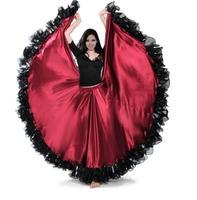 Kleid Die Öffnung Dance Modern Dance Voll skirted Kleid Spanien Stierkampf Dance Rock Langarm Kostüme