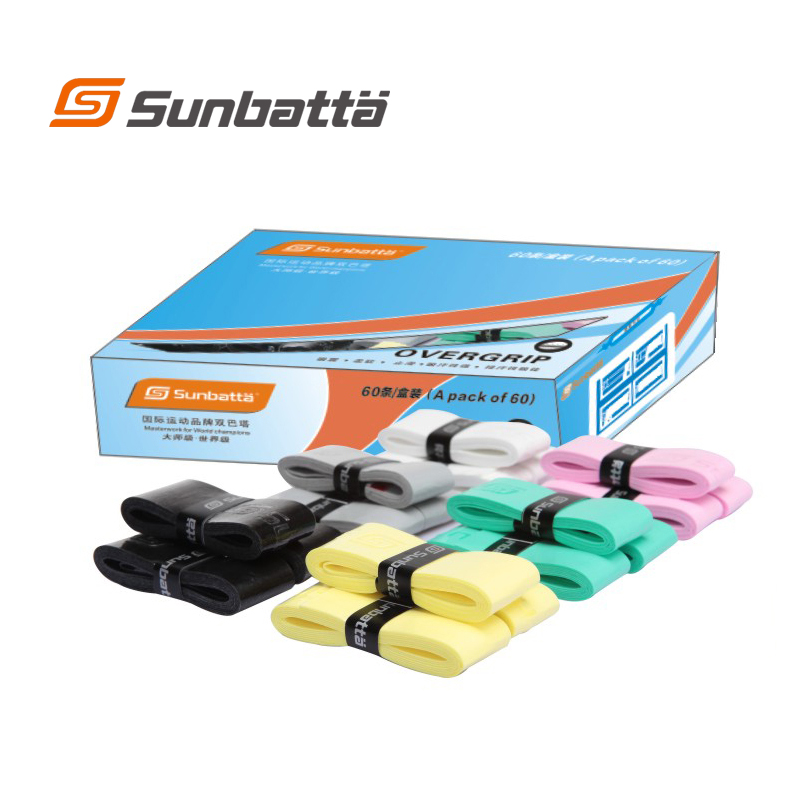 Sunbatta(a Japanese Brand,Founded Since 1936) Strongly Recommend Tacky Feel Grip/Pro Overgrip(use For Tennis,badminton)