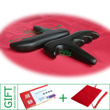 Good quality! Wholesale & Retail Traditional Bian Needle therapy black bian stone massage cone 10pieces/lot