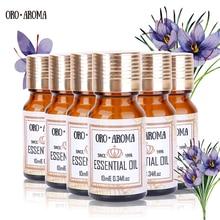 Celebru brand oroaroma ac de pin Marjoram Carnation Angelica Argan Evening Primrose Essential ulei de ambalaj pentru baie de baie 10ml * 6