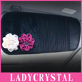 Ladycrystal Discos Carro Titular Auto Viseira CD DVD Case Cartão Disk Clipper Saco Tampa Estilo Do Carro Interior do Organizador Estiva Tidying