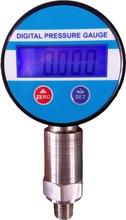 Darmowa wysyłka 60Mpa 0.25% psi Zasilany Baterią manometr Cyfrowy próżniowe/Bar/kg/m2/Kpa