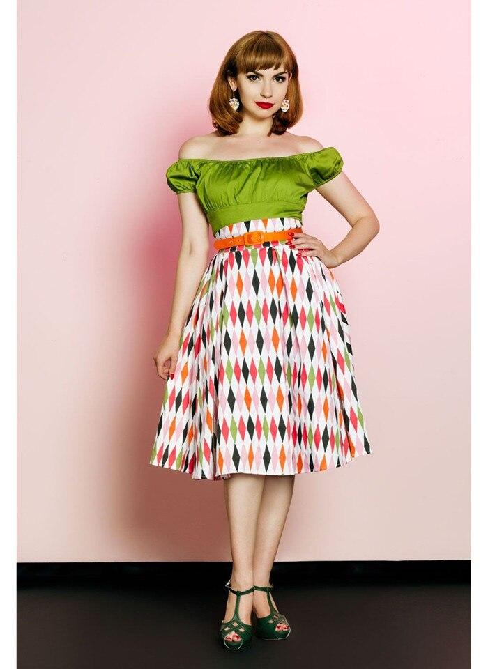 De En Longue Saia Satin Faldas La Show Coton Vintage Imprimé Femme Jupe Cinquante femmes Taille As Années Arlequin Plus Juin 30 Jupes Haute EpXqPnxwU