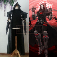 HOT Games Reaper Cosplay Costume COS Gabriel DE Reyes Any Size Handmade For Halloween