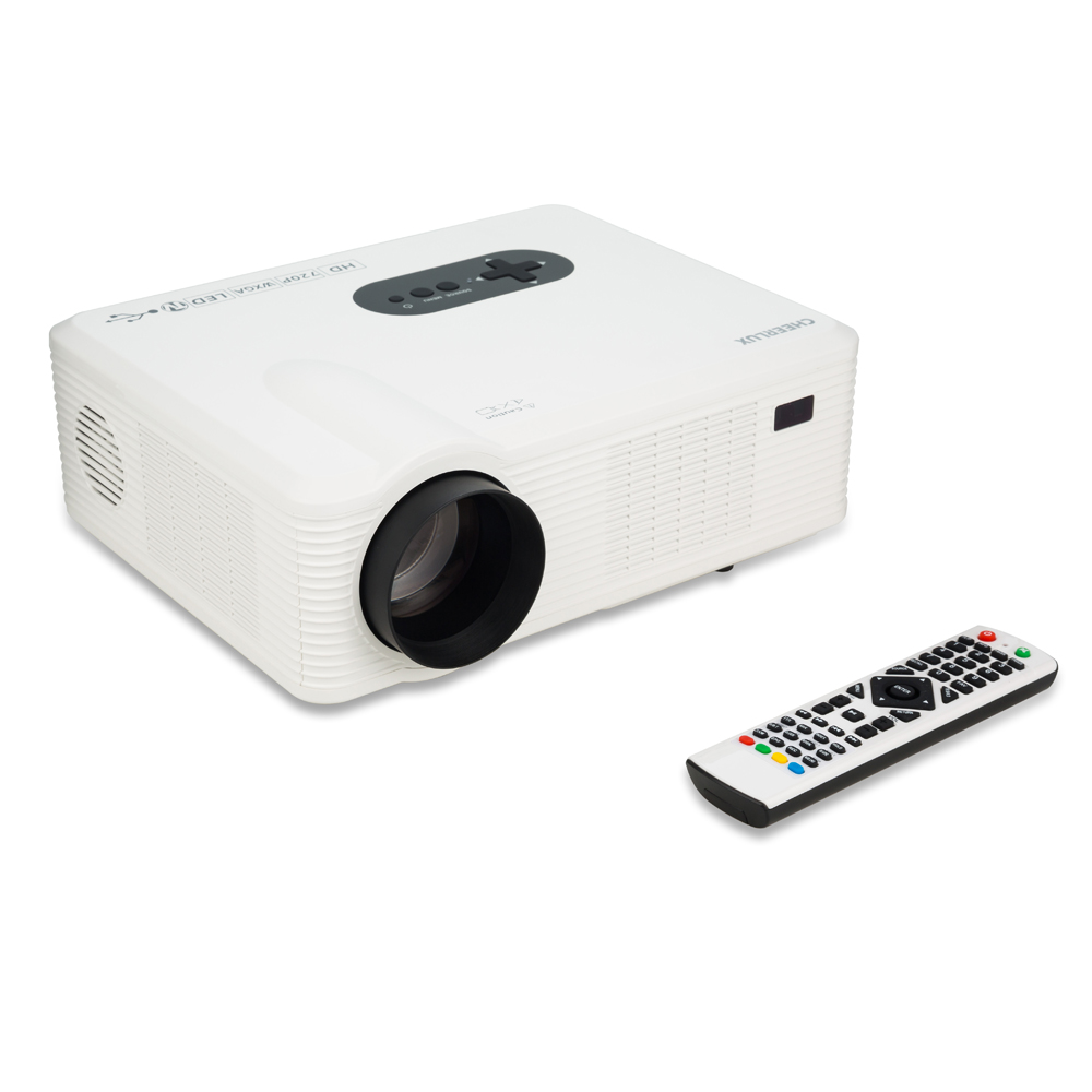 3000 Lumens Hd Home Theater Multimedia Lcd Led Projector: CL720 3000 Lumens HD Home Theater Multimedia LCD Projector