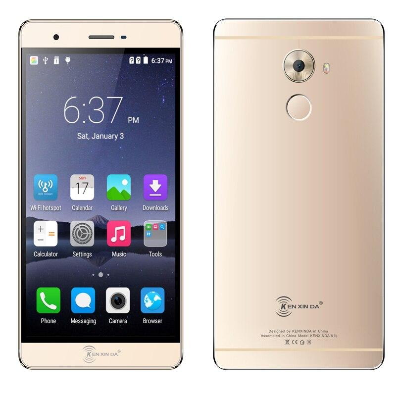 Original kenxinda R7s ultra Slim thin Mobile Phone Smartphone 4G LTE Octa Core 5 5 1920x1080