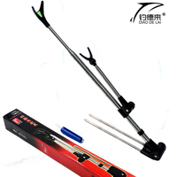 Newest Fish Rod Stand Bracket Angle Adjustable Fishing Rods Holder Adjustable Telescoping Fishing Tool Hand Rod