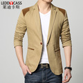 The New Men's Suits Slim Denim Blazer Men Business Casual Suit Jacket Young Men Terno Wedding Blazer Homme