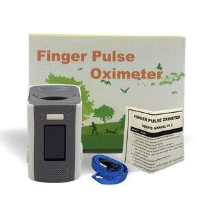 Image 5 - PR+MISE finger pulse oximeter OLED ABS metrial heart rate monitor
