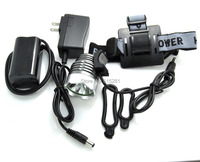 Waterproof Cree XM-L T6 White LED Headlamp With Full Set Accessories Bicycle Bike Flash Light Torch High Power Lamp