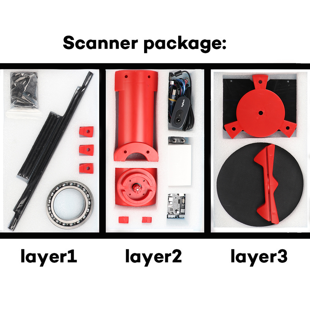 China diy 3d scanner Suppliers