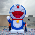 Included air blower  giant advertising inflatable doraemon A dream cartoon for christmas decoration