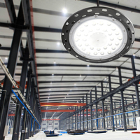100W Industrial UFO LED High Bay Light 85 265V warehouse factory supermarket Lighting highbay LED Lamp Indoor lighting fixture