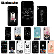 541bfa71138 KPOP BTS Signature Soft Silicone TPU Phone Cover case for iphone X XS MAX 5  6S