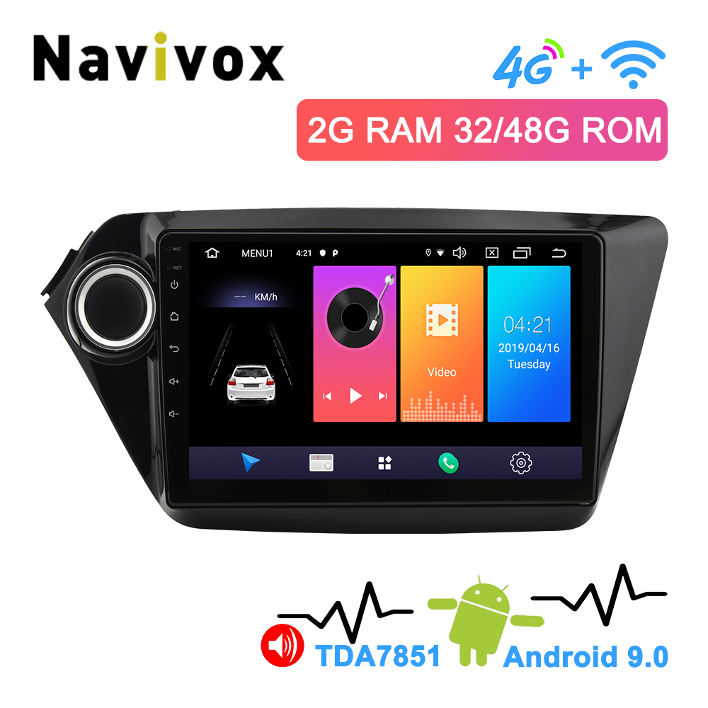 Navivox 2.5D IPS Screen 2 Din Android 9.0 Car DVD Player Radio For Kia K2 Rio 2010 2011 2012 2013 2014 2015 2016 2017 MultimediaNavivox 2.5D IPS Screen 2 Din Android 9.0 Car DVD Player Radio For Kia K2 Rio 2010 2011 2012 2013 2014 2015 2016 2017 Multimedia