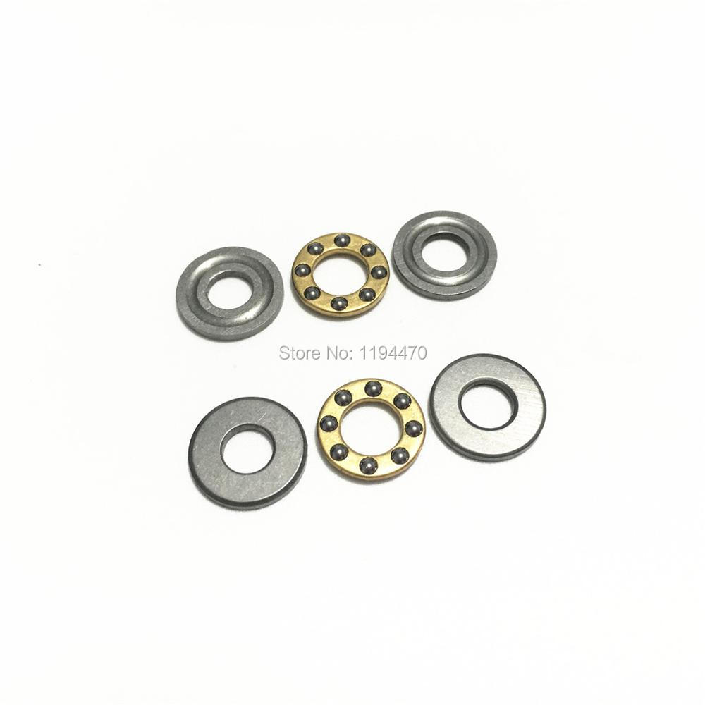 10pcs Axial Thrust Ball Bearings 8mm x 16mm x 5mm F8-16M Stainless Steel USA