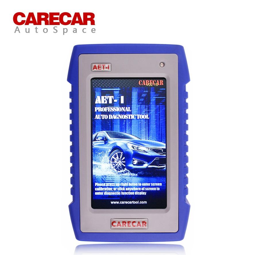 Prix pour Carecar AET-I Plein Système OBDII Diagnostic Scanner Outil ABS Airbag Réinitialisation Pour Suzuki Hyundai Maruti Tata Mahindra Indien OBD2 OBD