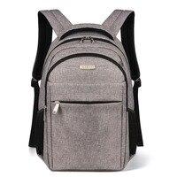 Advocator 15 6 Laptop College Student School Bag Nylon Waterproof Business Trip Men Daypack Large College